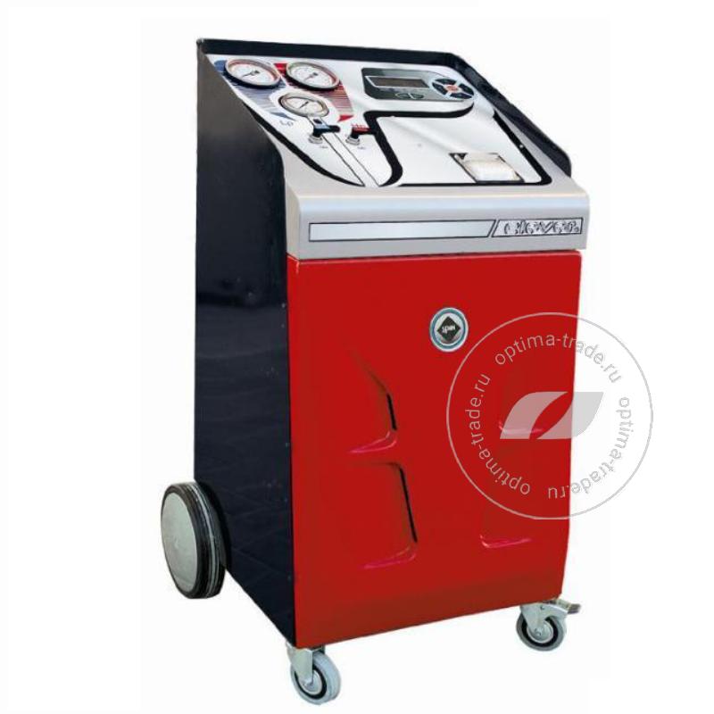 Spin Clever Advance Basic Printer - установка для заправки кондиционеров, автомат, бак 13 л, мощ. насоса 72 л/мин.er Advance Basic - установка для заправки кондиционеров для л/а, автомат, бак 13 л., мощ. насоса 72 л/мин.