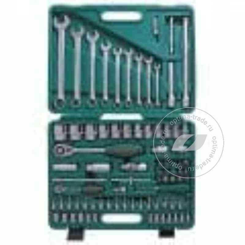 """Jonnesway S04H52482S - универсальный набор инструмента 1/4""""DR и 1/2""""DR, 82 предмета"""