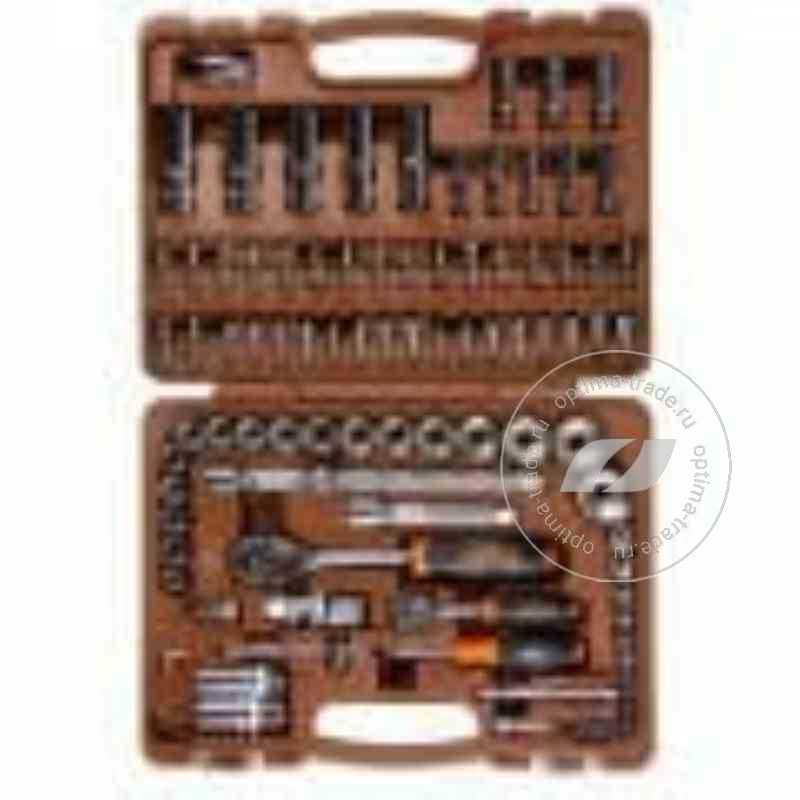 """Ombra OMT94S12 - универсальный набор инструмента, 1/2""""DR и 1/4""""DR, с 12-гранными головками 94 предмета"""