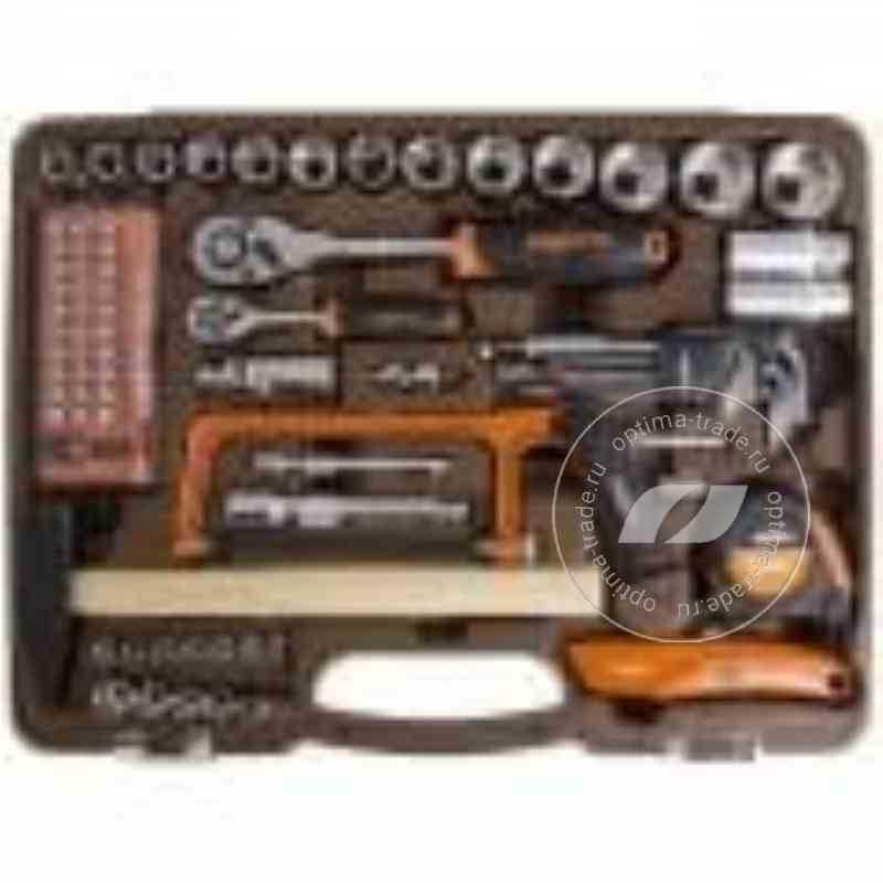 """Ombra OMT101S - универсальный набор инструмента 1/2""""DR и 1/4""""DR, 101 предмет"""
