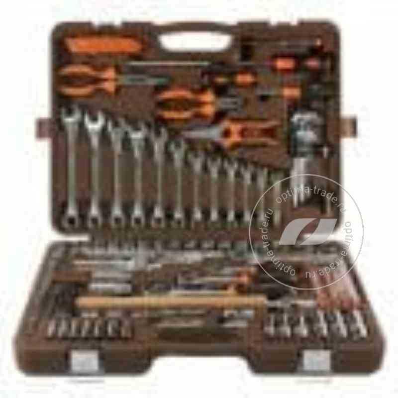 """Ombra OMT131S - универсальный набор инструмента 1/2"""", 1/4"""", 3/8"""", 131 предмет"""