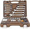 "Ombra OMT82S12 - набор: головки 1/2""DR, 1/4""DR (4-32 мм), ключи 12-22 мм, 12-гранные головки, 82 предмета"