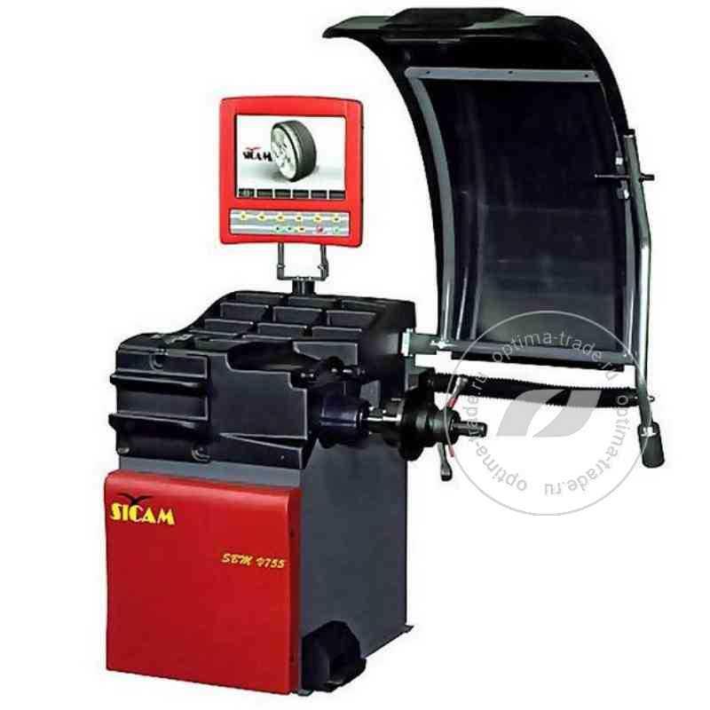 Балансировочный стенд с автоматическим вводом 3 параметров - Sicam SBM V755