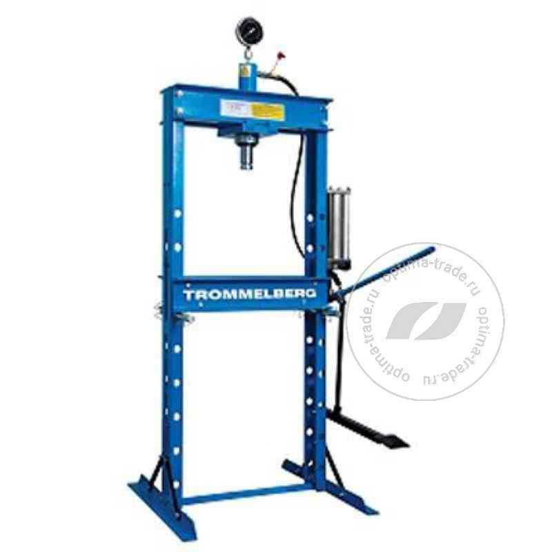 Пресс гидравлический напольный усилие 20 т. - Trommelberg SD100805C