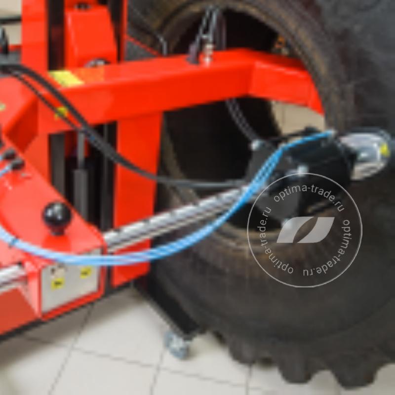 Сибек Эребус - вулканизатор напольный подкатной для шин тракторов и карьерной техники