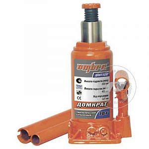 Домкрат гидравлический бутылочный, г/п - 10 т - Ombra OHT110