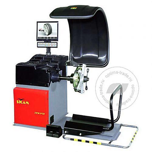 Балансировочный станок для грузовых колес, ø10-26,5″ - Sicam V955