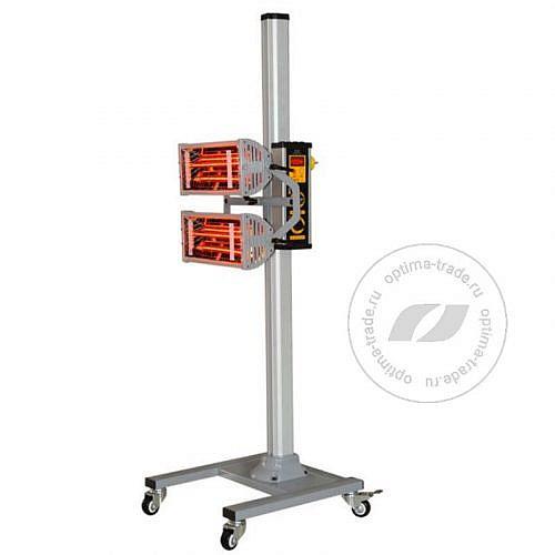 Двухкассетная инфракрасная сушка на стойке - WiederKraft WDK-2H