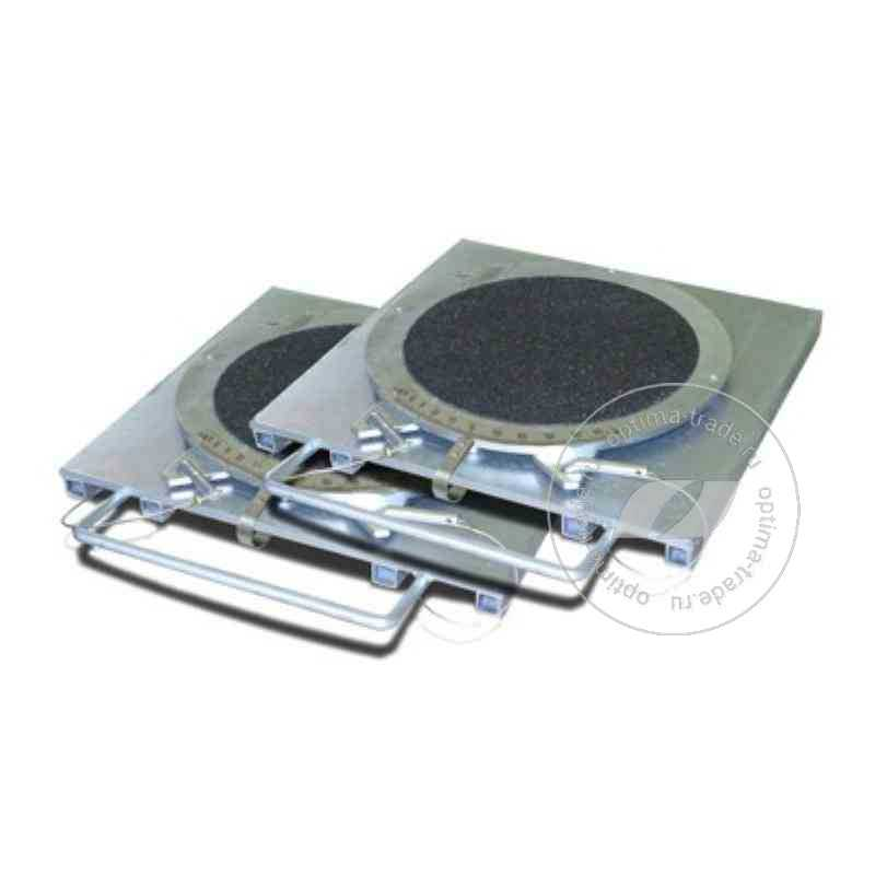Передние поворотные платформы (круги) 008-07, усиленные