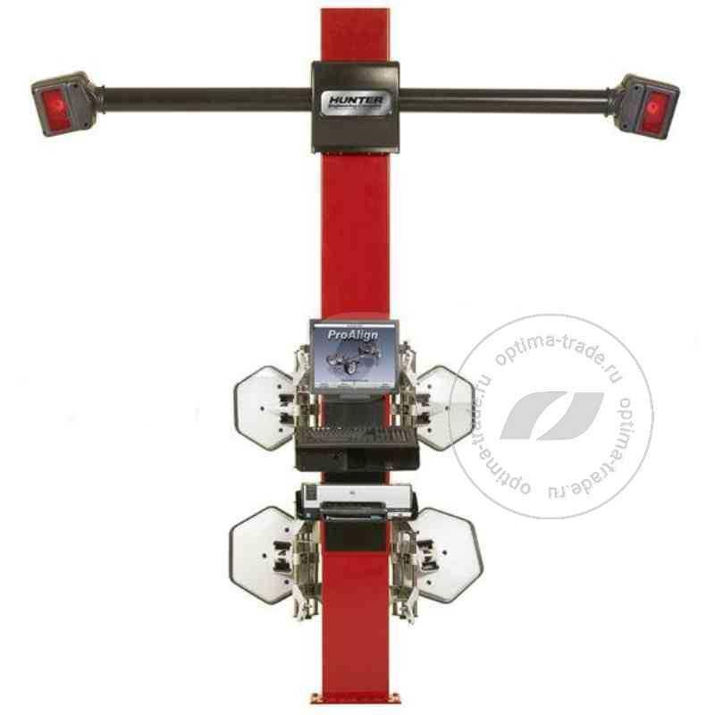 Стенд сход-развала 3D - Hunter PA120/17N-200ML1, стационарный кабинет, 2 камеры, механический лифт