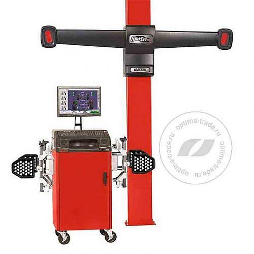 Hunter PA130/17L-200FC1 - 3D стенд, мобильный кабинет, 2 камеры, без лифта