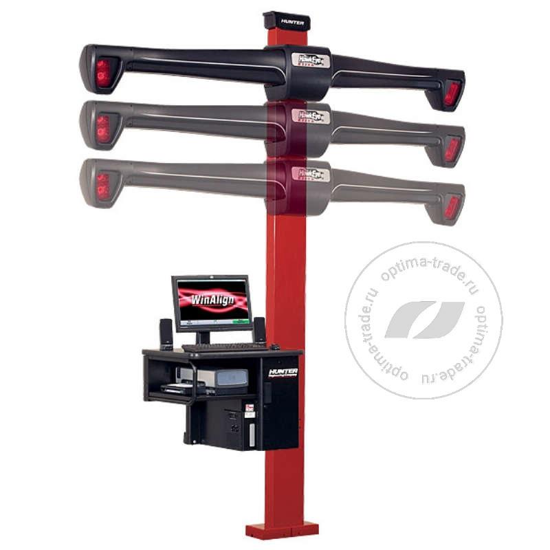 Hunter WA320/20NE-421LZ2 - 3D стенд, мобильный кабинет, 4 камеры, эл./механический лифт, напольное исполнение (Копировать)