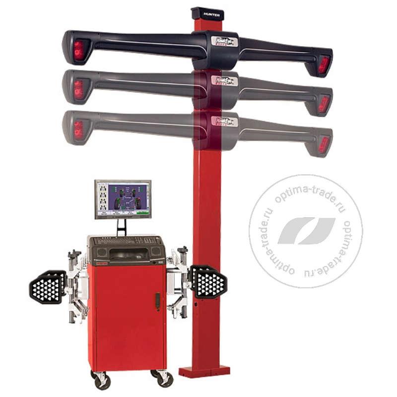 Hunter WA330/20LE-421LZ2 - 3D стенд, мобильный кабинет, 4 камеры, эл./механический лифт, напольное исполнение