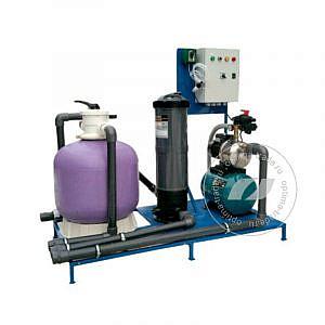 Система очистки воды АРОС 2.1 М на 2 поста (поток 5000 л/ч, 220 В, 2,0 кВт)