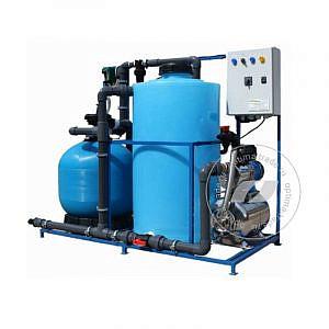 Система очистки воды АРОС 2 на 2 поста (поток 2000 л/ч, 220 В, 2,1 кВт)