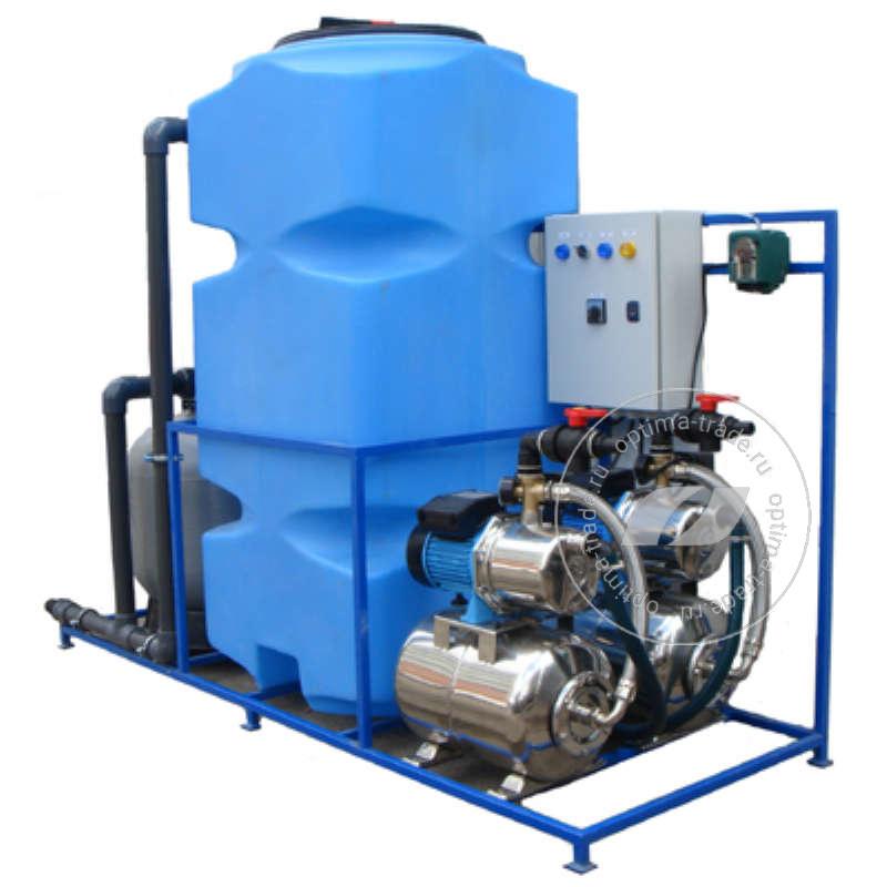Система очистки воды АРОС 5 ЭКОНОМ на 6 постов (поток 5000 л/ч, 220 В, 3,2 кВт)