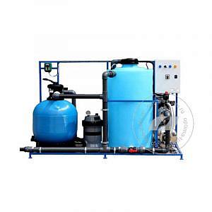 Система очистки воды АРОС 2.1 на 2 поста (поток 2000 л/ч, 220 В, 2,1 кВт) с доп. ступенью фильтрации