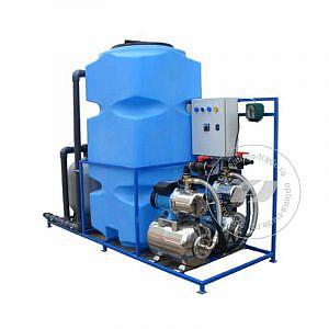 Система очистки воды АРОС 4 на 4 поста (4000 л/ч, бак 500 л, 220 В, 3,1 кВт)