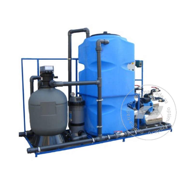 Система очистки воды АРОС 5.2 на 6 поста (5000 л/ч, бак 500 л, 220 В, 3,2 кВт)