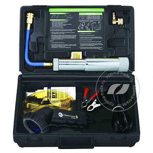 SPIN KIT E - ультрафиолетовый течеискатель (набор - жидкость, очки, фонарь)