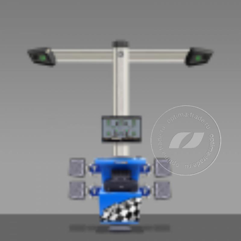 Техно Вектор 7202 T5A - 3D стенд, стационарный кабинет, 2 камеры, напольное исполнение, серия Aluminum