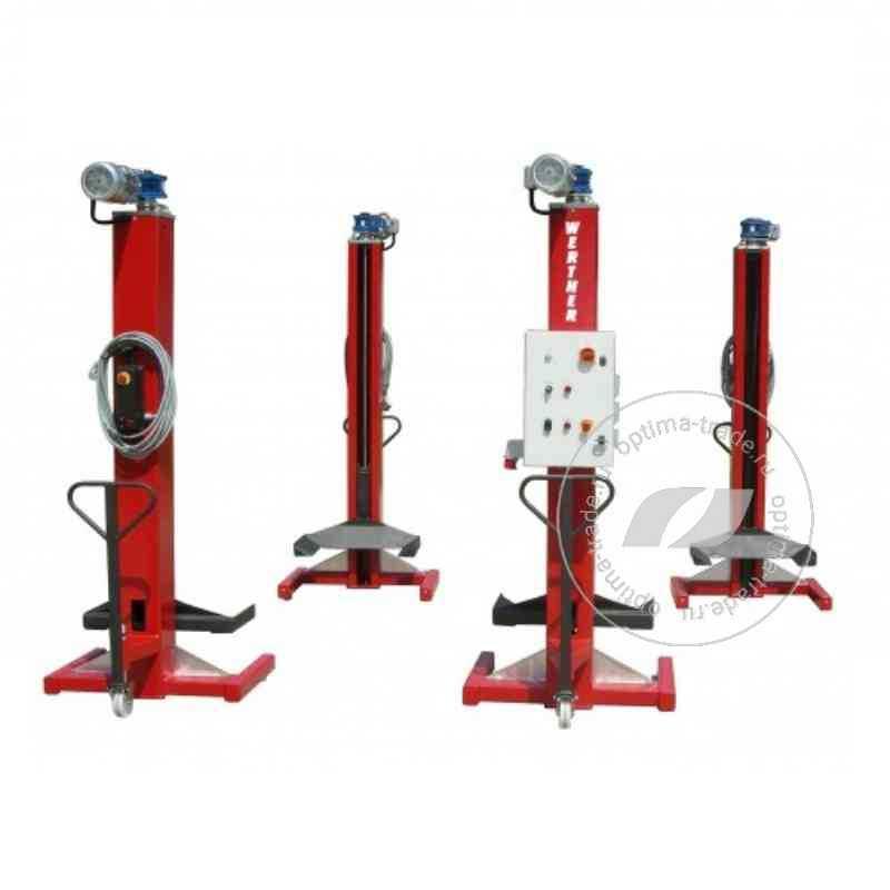 WERTHER LTW55 - комплект подкатных электромеханических колонн, г/п - 5,5 т.