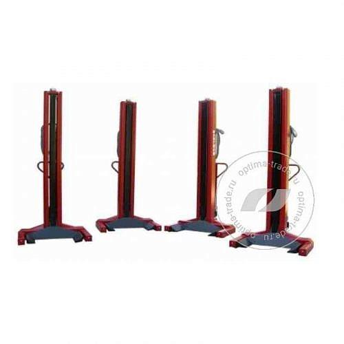 WERTHER LTW75 - комплект подкатных электромеханических колонн, г/п - 7,5 т