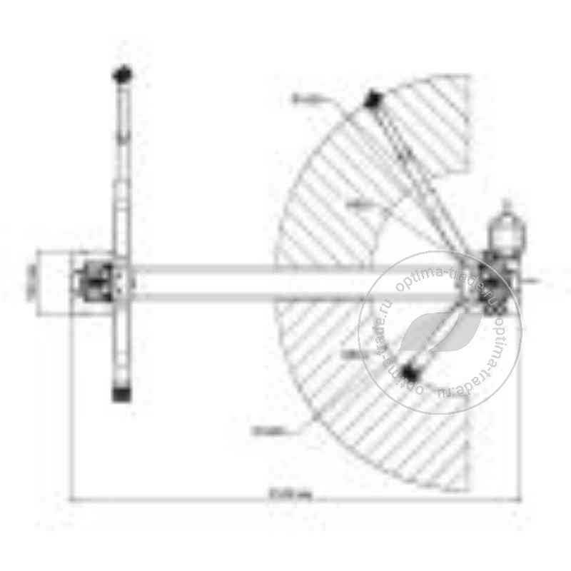 Trommelberg TST55W - двухстоечный подъемник, г/п - 5,5 т, нижняя синхронизация, симметричные лапы