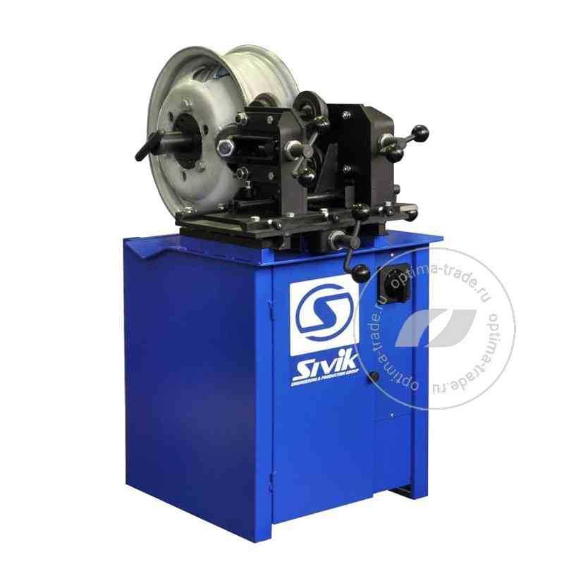 """Sivik Titan ST-17 - станок для прокатки стальных дисков диаметром ø12-17"""", 380 В"""