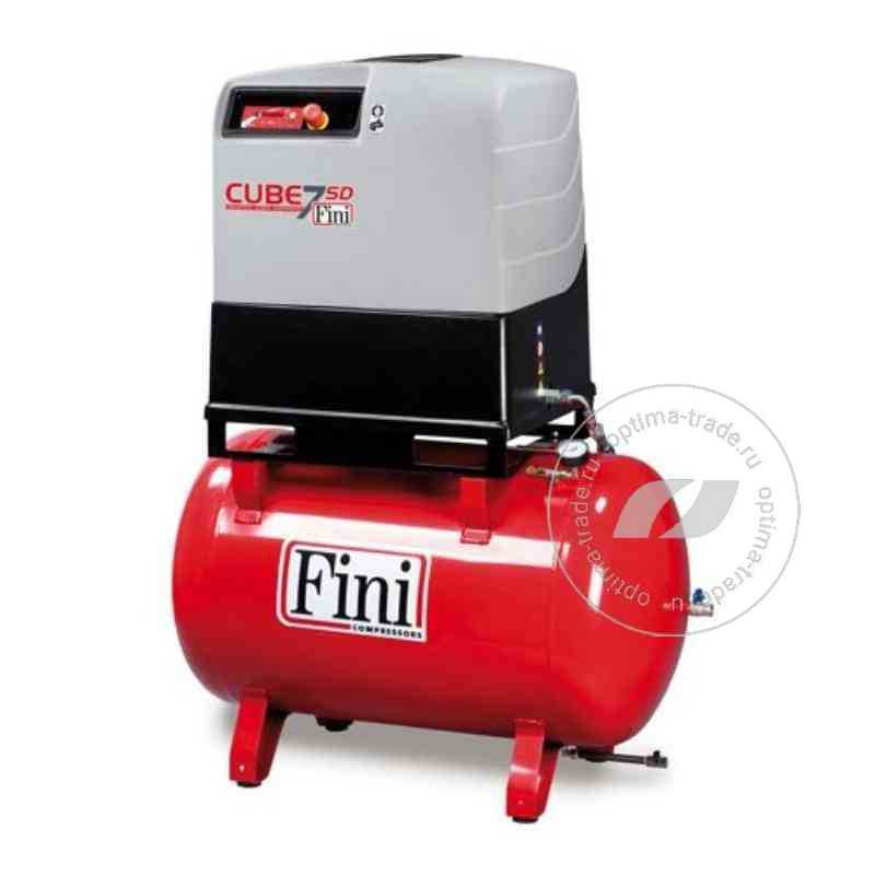 Fini CUBE SD 710-270F - компрессор винтовой, ресивер 270 л., 5.5 кВт, 705 л/мин, 380 В