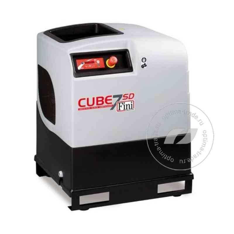 Fini CUBE SD 710 - компрессор винтовой, без ресивера, 5.5 кВт, 705 л/мин, 380 В