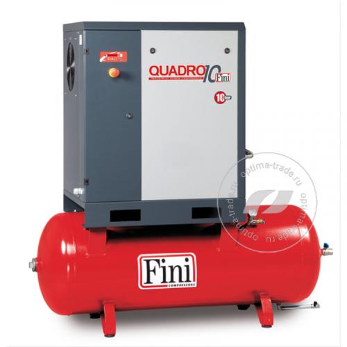 Fini QUADRO 1510 270F - компрессор винтовой, ресивер 270 л., 11 кВт, 1500 л/мин, 380 В