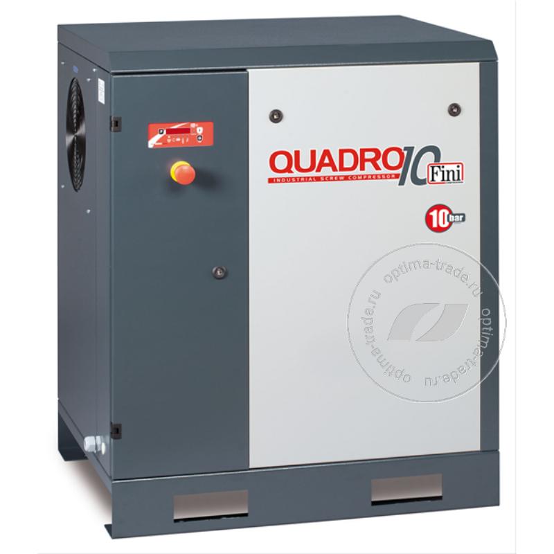 Fini QUADRO 2010 - компрессор винтовой, на раме, 15 кВт, 1850 л/мин, 380 В