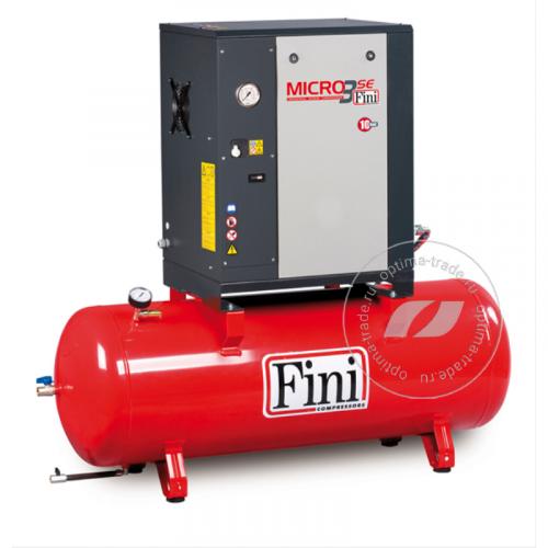 Fini ET MICRO 410 SE-200 - компрессор винтовой, ресивер 200 л., 3 кВт, 385 л/мин, 380 В