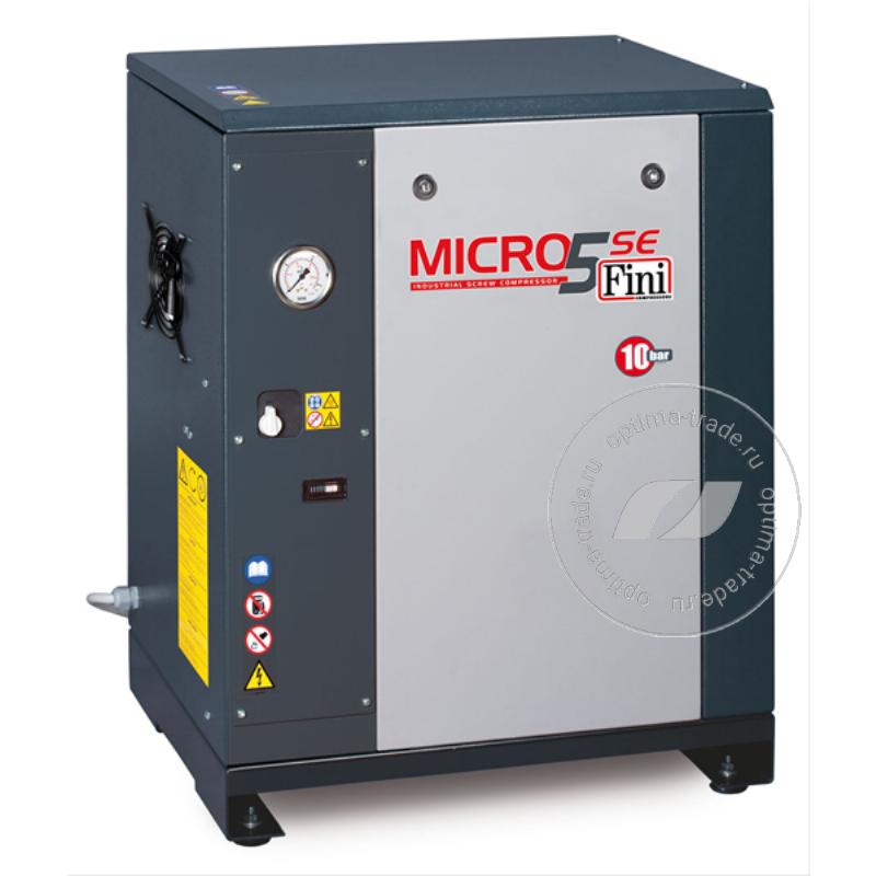 Fini ET MICRO 410 SE - компрессор винтовой, без ресивера, 3 кВт, 385 л/мин, 380 В