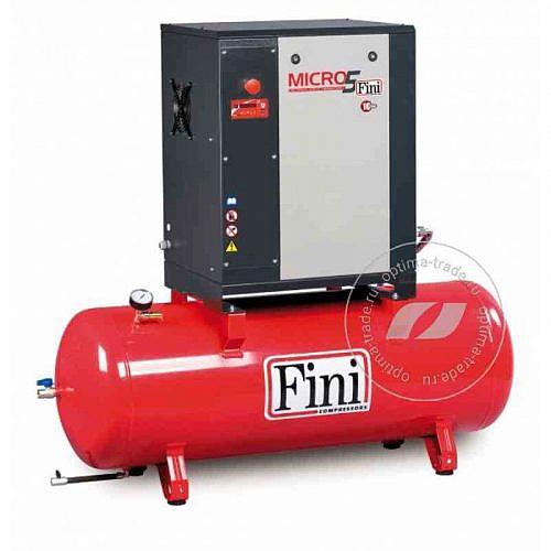 Fini ET MICRO 510 SE-200 - компрессор винтовой, ресивер 200 л., 4 кВт, 485 л/мин, 380 В