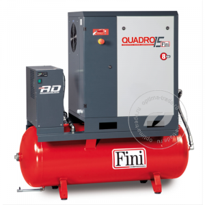 QUADRO 1510 270F ES - компрессор с осушителем, ресивер 270 л., 11 кВт, 1500 л/мин, 380 В