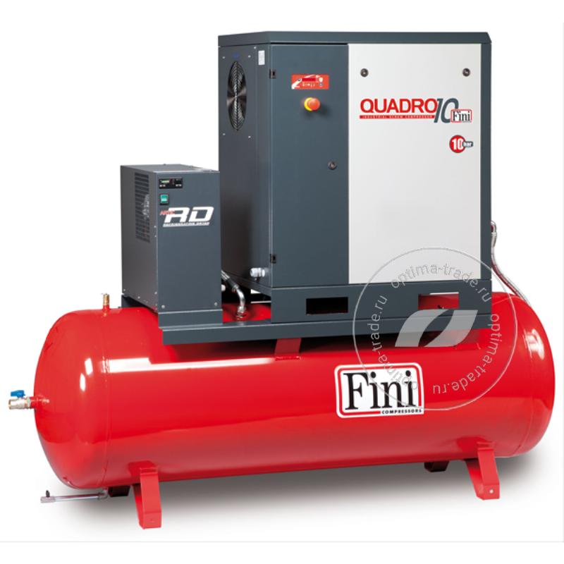QUADRO 1510 500F ES - компрессор с осушителем, ресивер 500 л., 11 кВт, 1500 л/мин, 380 В