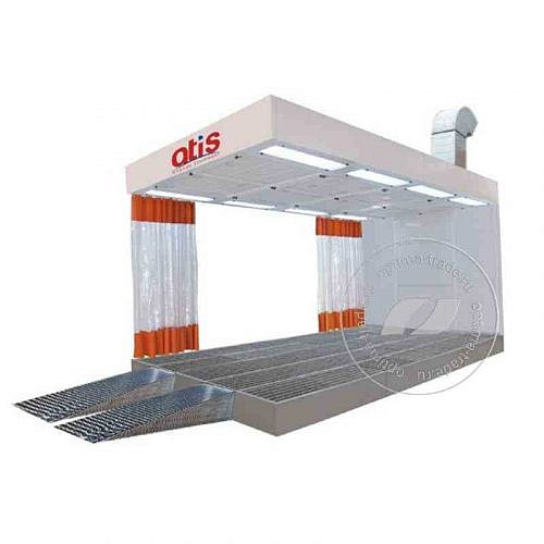 Atis PP 622 - зона подготовки к окраске на металлическом основании