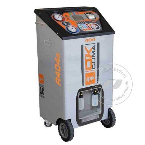 Spin OK Clima Advance 404 Truck - установка для заправки кондиционеров, автомат, бак 30 л, мощ. насоса 72 л/мин.