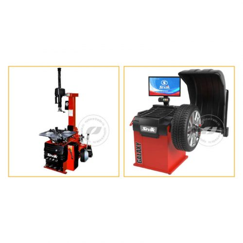 Комплекты станков для шиномонтажа,Sivik KC-404A Про и Sivik GALAXY+ - комплект станков для шиномонтажа и балансировки колес, ø10-28″