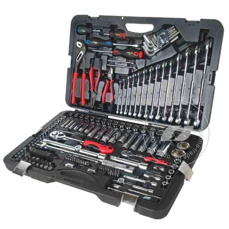 JTC-H145C - универсальный набор инструмента, 12 и 14DR , 145 предметов
