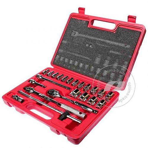 """JTC-H322B - универсальный набор инструмента, 3/8""""DR , 22 предмета"""