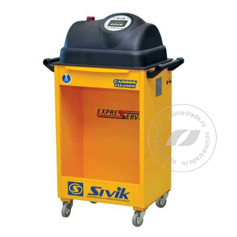 Sivik КС-120M Carbon Cleaner - установка для диагностики и очистки топливных систем автомобилей