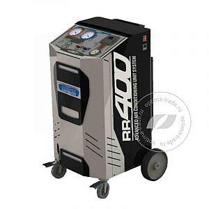 TopAuto RR400 - установка для заправки кондиционеров для л/а, автомат, бак 12 л, мощ. насоса 56 л/мин.