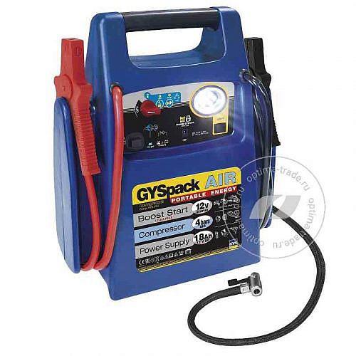 GYS Gyspack AIR 400 - пусковое устройство (бустер), пусковой ток 480 А, максимальный ток 1250 А