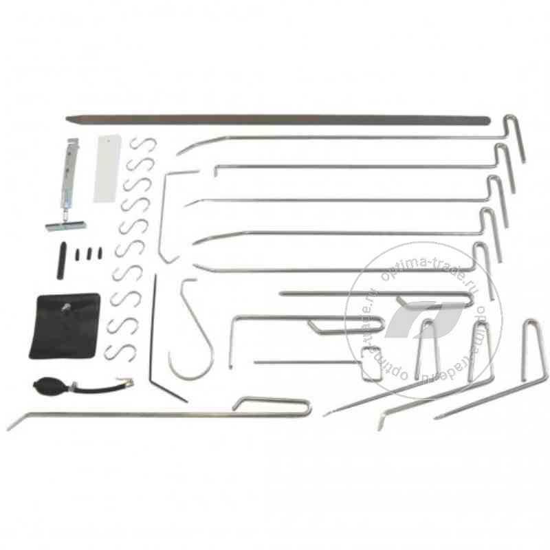 RedHotDot TH33001 - набор приспособлений для рихтовки без удаления покрытия, 33 предмета