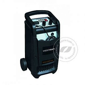 Wiederkraft WDK-Start400 - пуско-зарядное устройство, пусковой ток 290 А, для батарей емкостью до 700 А/ч