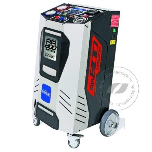 Лучшая автоматическая установка для заправки кондиционеров автомобиля TopAuto RR800Touch