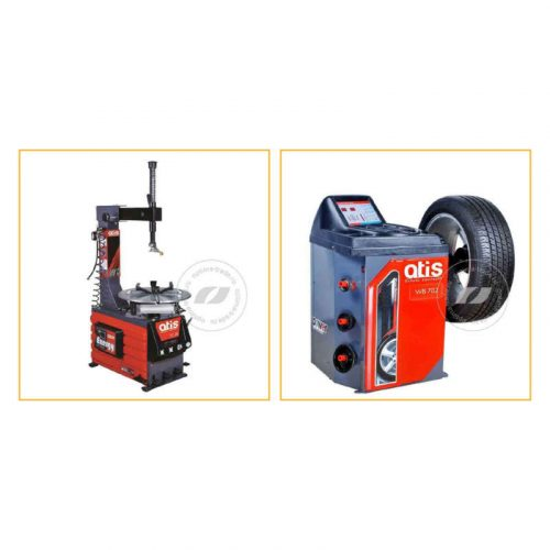 Atis TC20 и WB702 - комплект станков для шиномонтажа и балансировки колес, ø11-20″